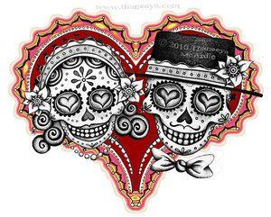 Los Novios Heart Couple by Thaneeya