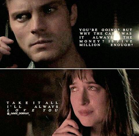 Christian and Ana Fifty Shades Darker #Fiftyshades