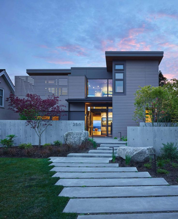 1940s Mission Style House Gets Brilliant Transformation In: 2850 Best Contemporary Homes Images On Pinterest