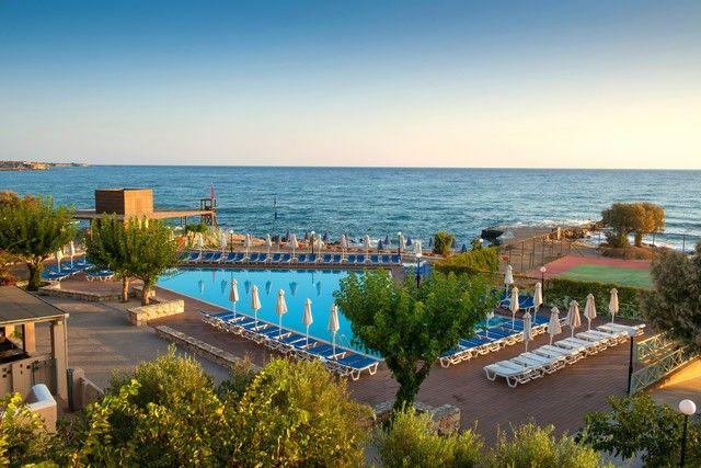 Hôtel Silva Beach 4* Heraklion, prix promo séjour Promoséjours à partir 614,00 € TTC 8J/7N Tout Compris.