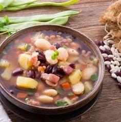 La vraie soupe Corse, une soupe consistante, riche en légumes et parfumée à découvrir ici >> http://www.bonduelle.fr/recettes/la-vraie-soupe-corse #SurprenezVous et #regalez vous avec #Bonduelle #recettes #cuisine #food #recipes #cooking #recette #soupe #specialite #corse