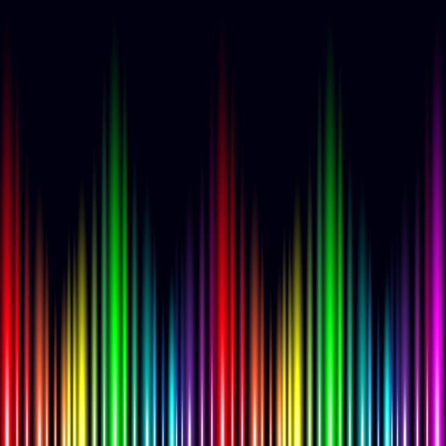 Abstract Rainbow Light Effect Electronic Wave Music Vector Background Abstract Audio Backdrop Png And Vector With Transparent Background For Free Download Rainbow Abstract Rainbow Colors Art Rainbow Light