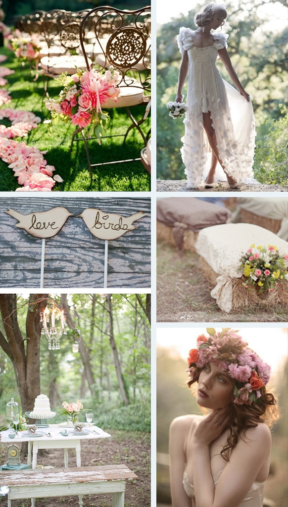 lovin the seating of hay bales with covers and flowers !