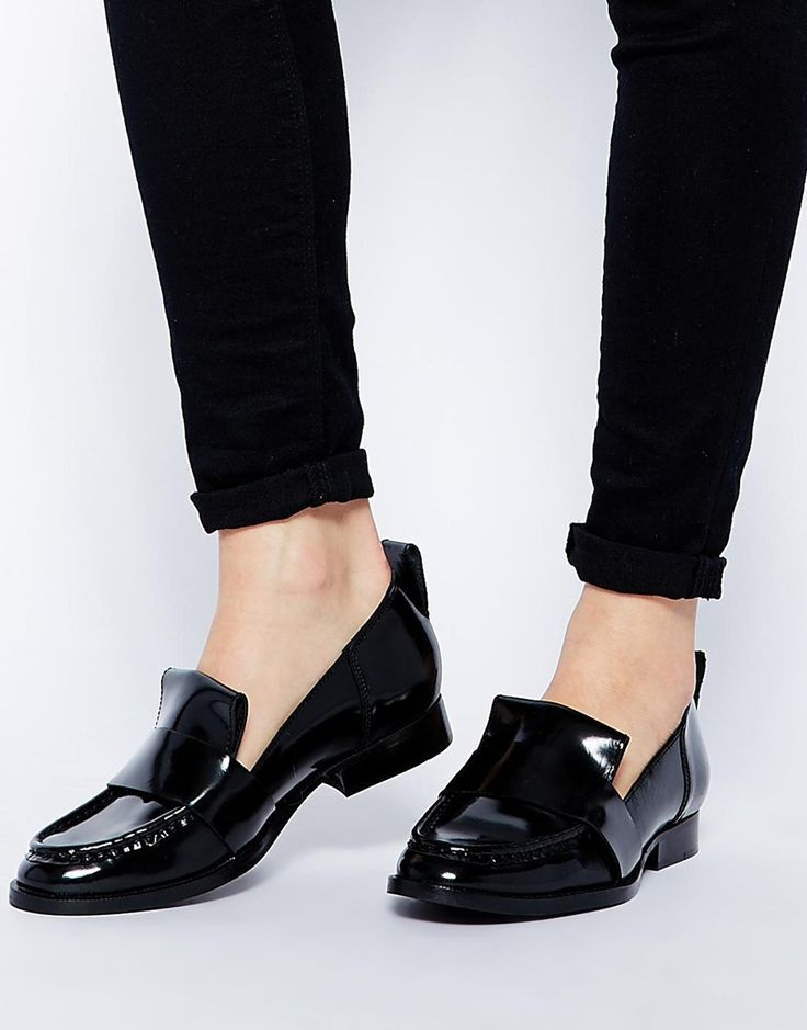 ASOS MOONLIGHT Leather Loafers
