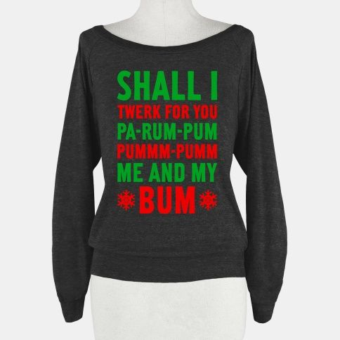 Definitely my kind of Christmas sweater lmao