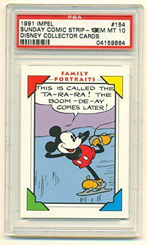 1991 Impel Sunday Comic Strip - Disney Collector Cards #154 - PSA 10 GEM MT @ niftywarehouse.com #NiftyWarehouse #Disney #DisneyMovies #Animated #Film #DisneyFilms #DisneyCartoons #Kids #Cartoons
