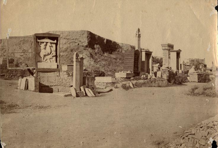 """#Atene, acropoli 1863 #mostra """"Del #Museo di #Palermo e del suo avvenire"""" - Il Salinas ricorda SALINAS 1914-2014 #museosalinas"""