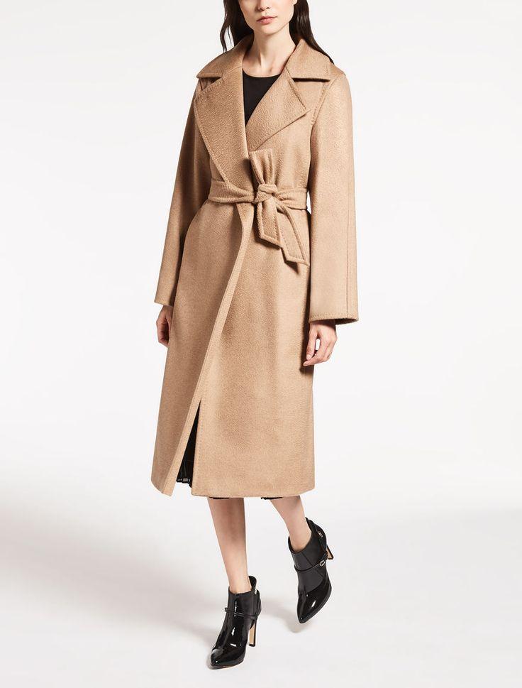 Max Mara MANUELA kamel: Mantel aus Kamelhaar.