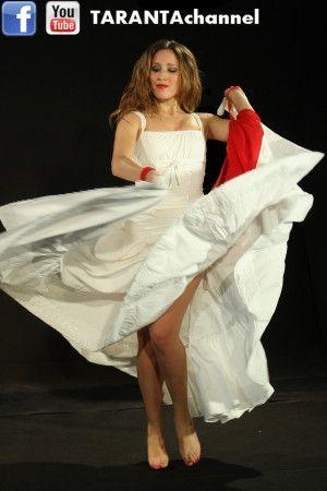 "#pizzica #taranta ballerina Stefania Della Bona (Band: ""Passione Taranta"") - watch her dancing at http://www.youtube.com/tarantachannel"