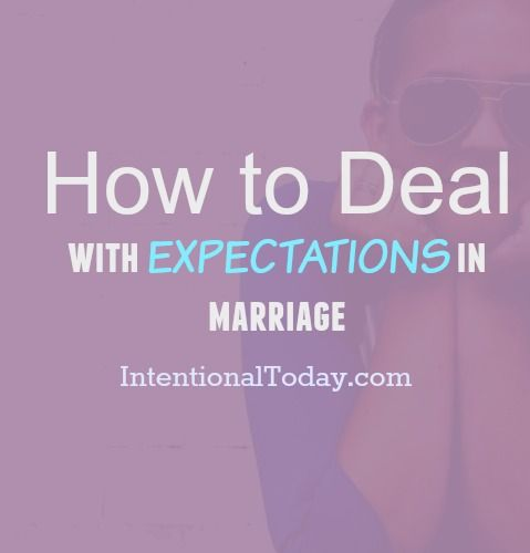 realistic expectations for marriage