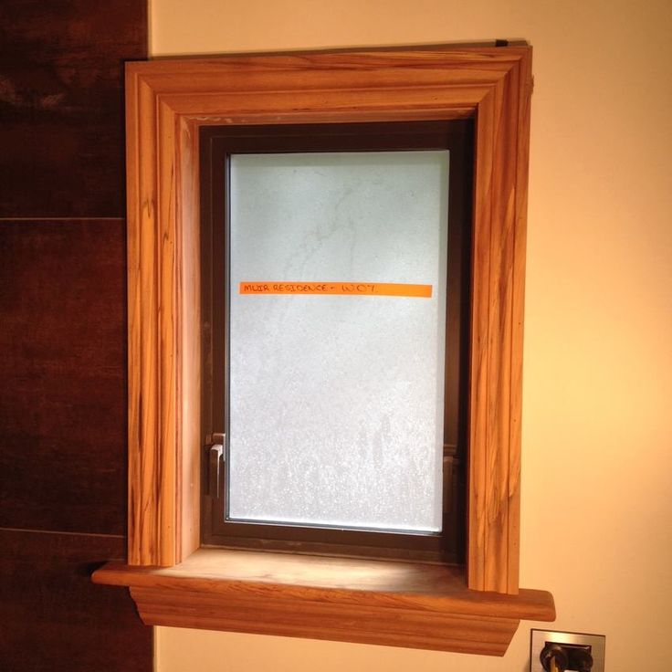 Rimu timber window architraves