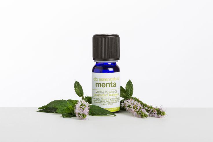 Olio essenziale di Menta Piperita Bio - La Saponaria!