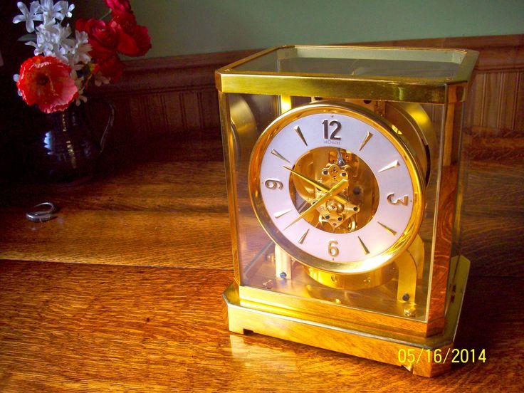 1953 Jaeger-LeCoultre Atmos Clock 519 http://www.curtsclocks.com/atmos-clock-repair/