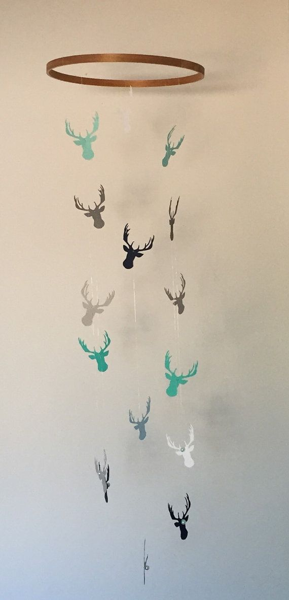 Hey, I found this really awesome Etsy listing at https://www.etsy.com/listing/233453289/woodland-deer-antler-mobile