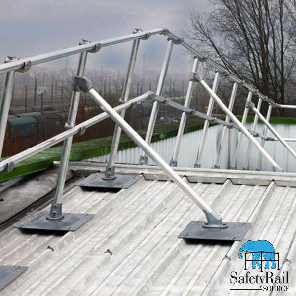 Best Keeguard Corrugated Osha Compliant Roof Edge Fall 400 x 300