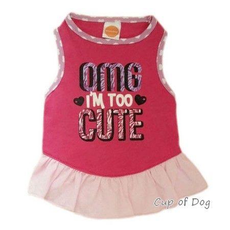 Robe Summer Style https://www.cupofdog.fr/vetement-chihuahua-manteau-petit-chien-xsl-246.html