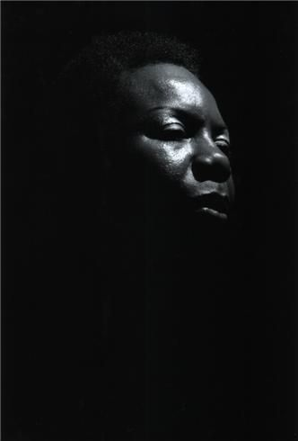 """""""An artist's duty, as far as I'm concerned, is to reflect the times."""" — Nina Simone • Photographed by David Corio • Ronnie Scott's, London • January 9, 1984."""