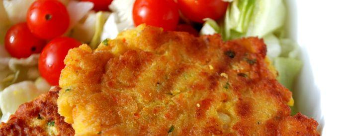 Placičky z červené čočky a zeleniny