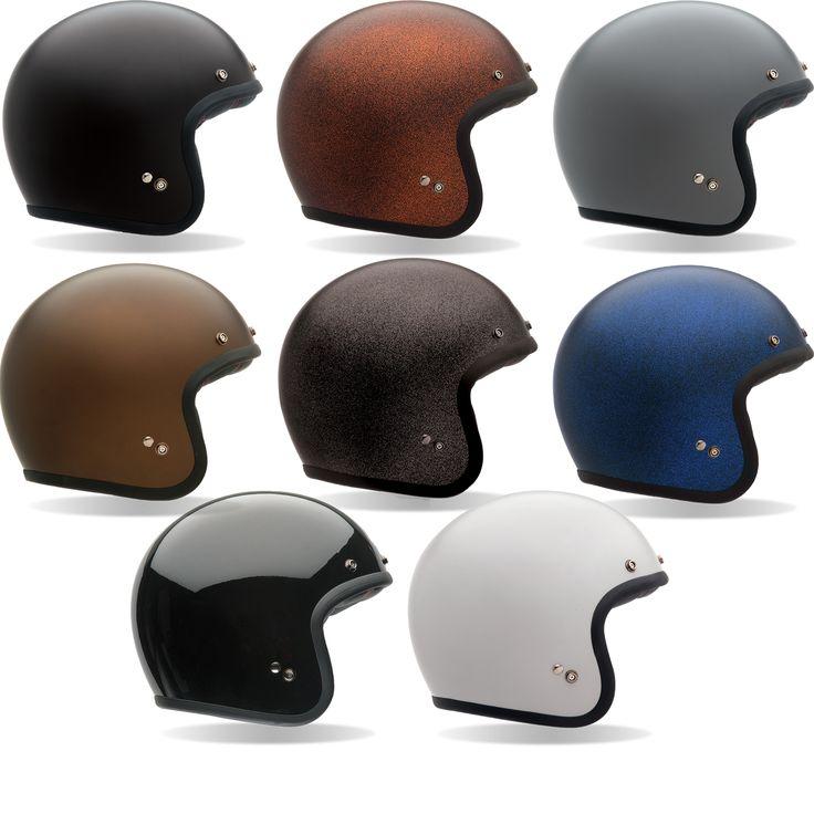 Bell Custom 500 Retro Motorcycle Helmet - Open Face Helmets - Ghostbikes.com