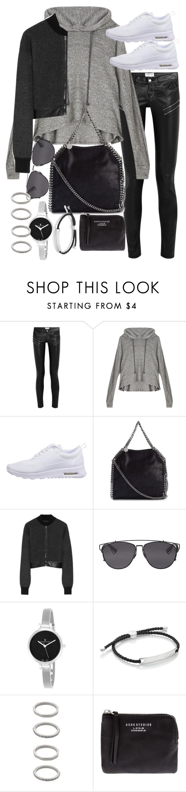 """Untitled #18910"" by florencia95 ❤ liked on Polyvore featuring Yves Saint Laurent, LnA, NIKE, STELLA McCARTNEY, Alexander Wang, Christian Dior, Christian Van Sant, Monica Vinader, Forever 21 and Acne Studios"