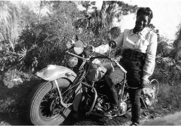 """BMW GS Girls: In The 1940s, """"The Motorcycle Queen Of Miami"""