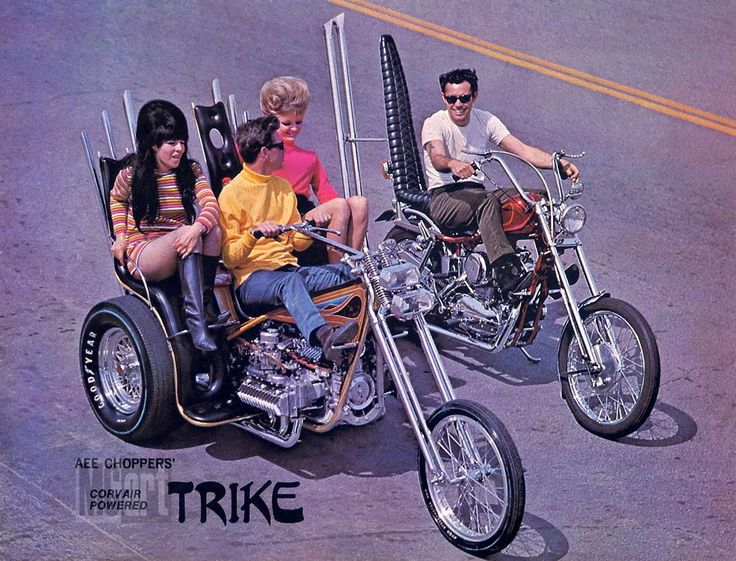 do want (both the motorcycles and the 60s friends in turtlenecks)