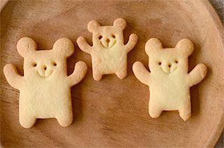 三匹くまクッキー♡