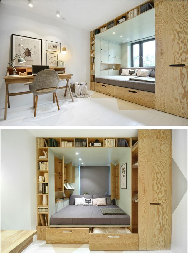Compact Living — By Russian design firm INT2architecture.