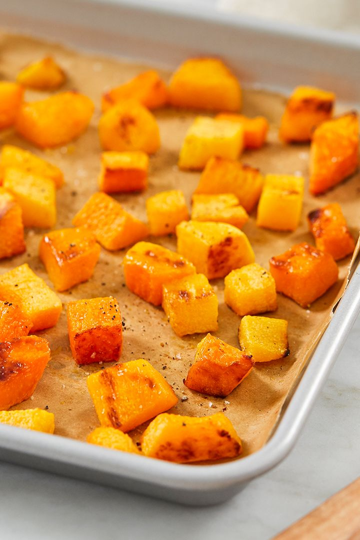 How To Cook Roasted Butternut Squash With Images Baked Squash