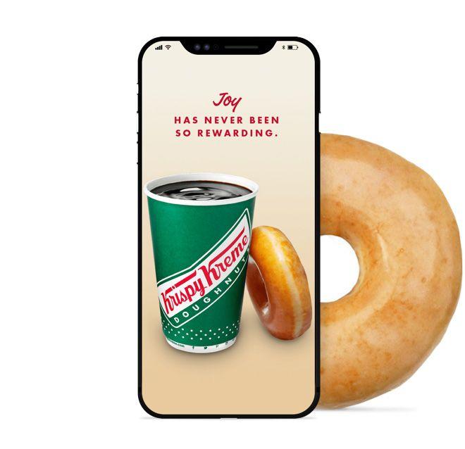 Earn Rewards With The Krispy Kreme App Coffee Drinks Krispy