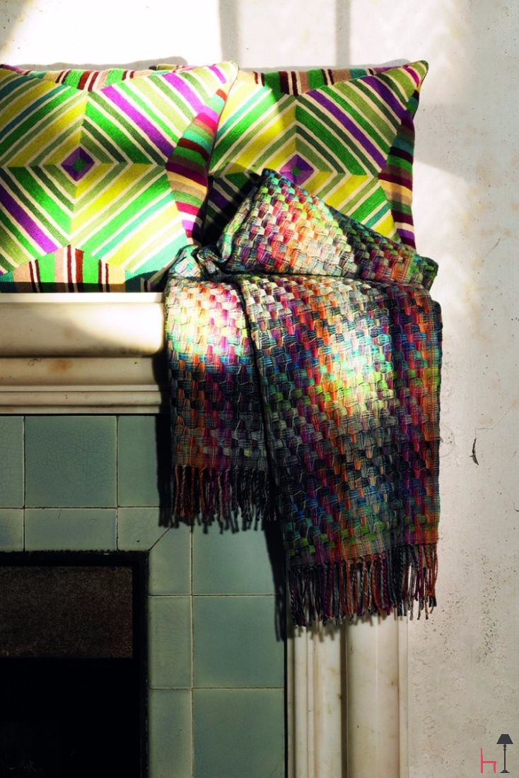 This softly coloured throw is designed to bring the beauty of Autumn inside your home.