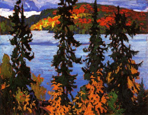 Montreal River (ca. 1920) - Lawren Harris