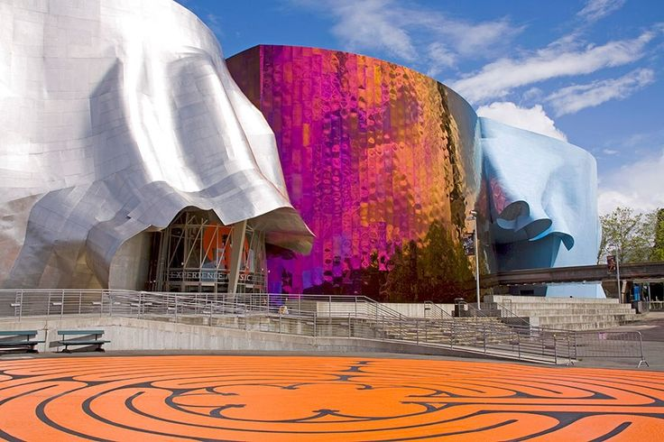 EMP Museium - Seattle  Frank Gehry Buildings and Architecture Photos | Architectural Digest