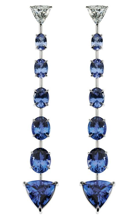 See best jewelry for Cool Winters at: http://www.truth-is-beauty.com/true-winter.html }} tanzanite jewelry http://Gemlab.co.in