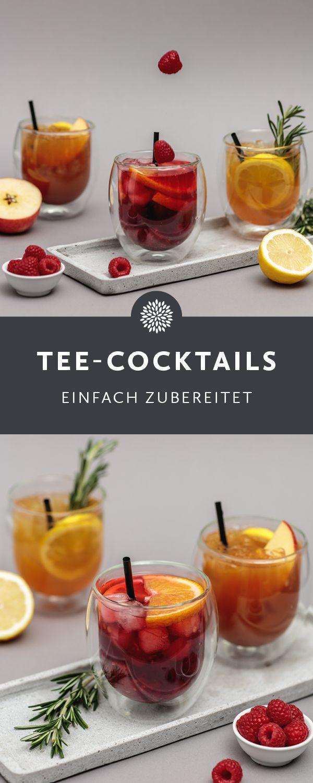 Wir möchten Dir zeigen wie du Dir Deine eigenen Tee-Cocktails zubereiten kannst. Cocktails mit Tee sind ein absolutes Trendgetränk im Jahr 2018 und passen perfekt zu jeder Party, jedem Event und zu jedem Geburtstag. Ob fruchtiger Cocktail, saurer Cocktail oder ein süßer Cocktail - für jeden ist etwas dabei.