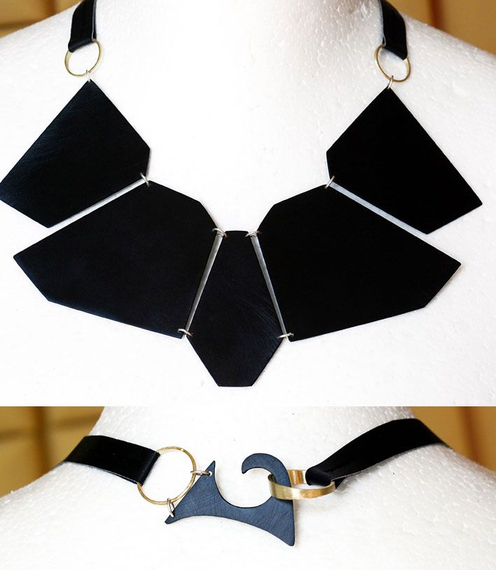 #necklaces #black