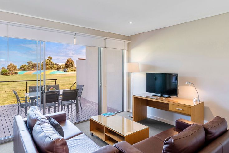 Step off your balcony straight onto the village green #familytime #silverwaterresort