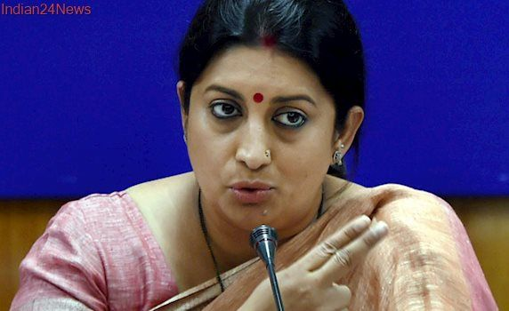 Demonetisation Dealt a Death Blow to Pakistan's Counterfeit biz: Smriti Irani