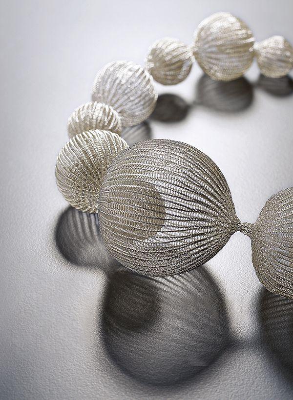 Sowon Joo Studio (Korea)   Necklace, conceptual jewelry made by Sowon Joo