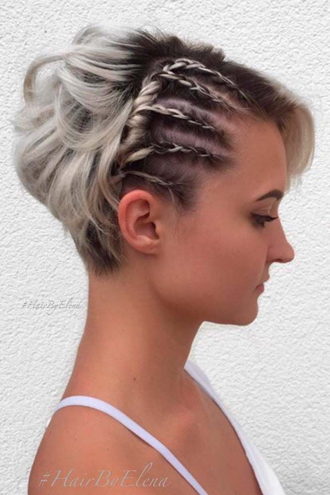 Fabulous The 25 Best Ideas About Braids For Short Hair On Pinterest Short Hairstyles Gunalazisus