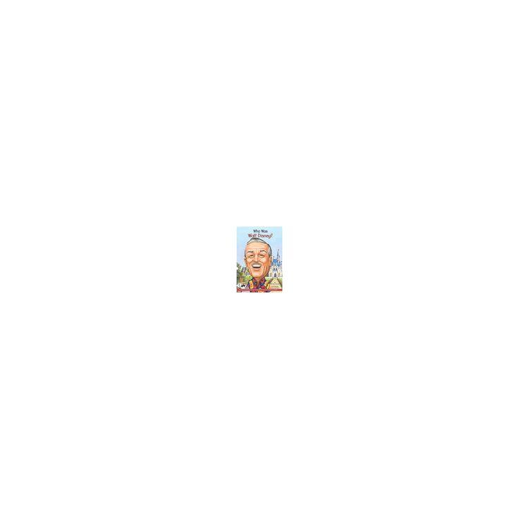 Who Was Walt Disney? (Unabridged) (CD/Spoken Word) (Whitney Stewart)