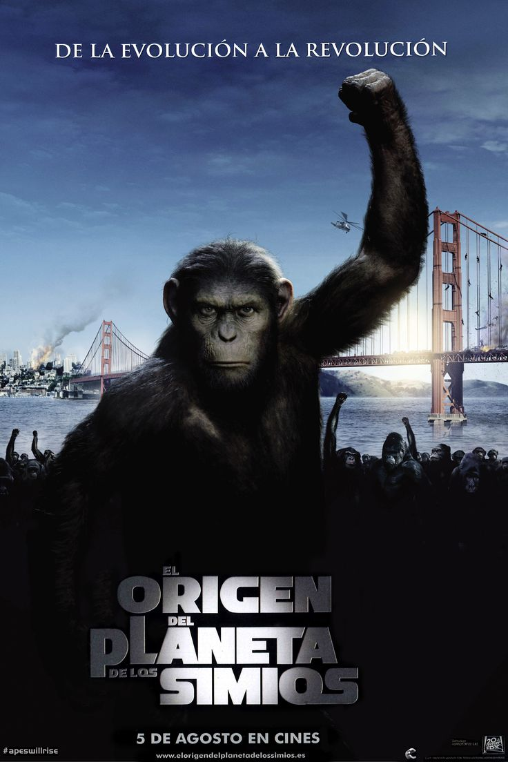 2011 - El origen del planeta de los simios - Rise of the planet of the apes - tt1318514