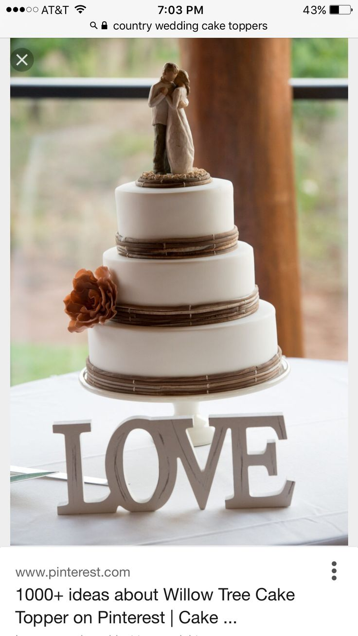 Fantastic Graceful And Beauty Rustic Cakes Ideas