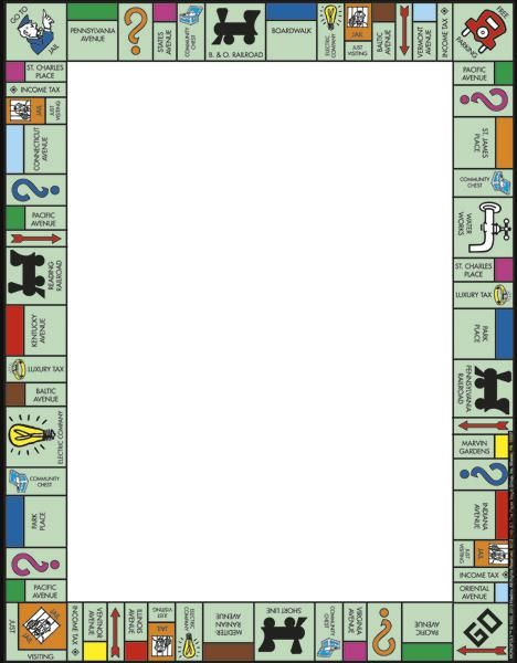 Monopoly Computer Paper