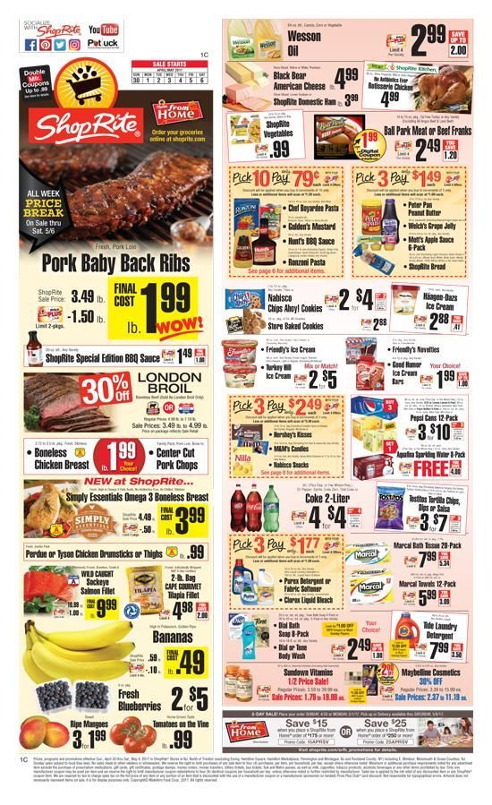 ShopRite Circular September 30 – October 6, PM Thelma P. Guerra Labels: Grocery Get Dannon Oikos or light & fit drinks 7 oz. cont., Chock full o' nuts coffee K-Cups oz. box., Donut house coffee K-Cups to oz. box. Chobani greek yogurt to oz. cont., Kozy Shack puddings 22 0z. cont. Snapple iced tea 12 pack, oz. tot. wt. glass btls., 16 oz. Glass bottles, any variety, drink.
