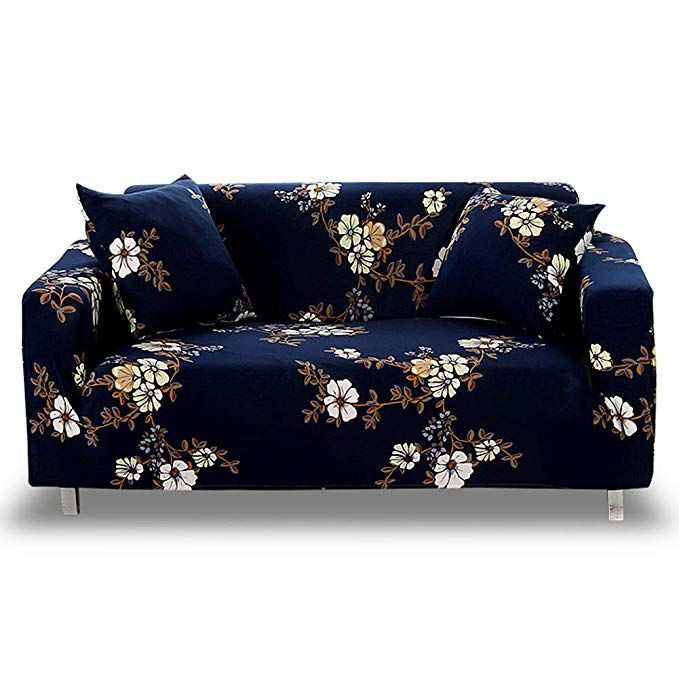 Amazon Com Hotniu Stretch Sofa Slipcover 1 Piece Polyester