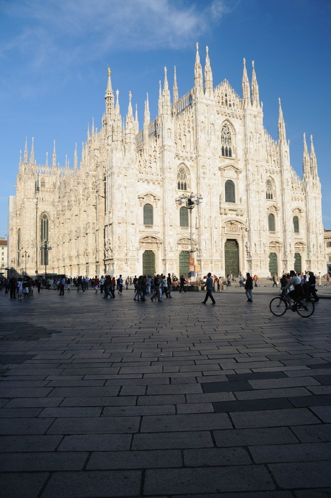 Duomo (Cathedral) of Milano. Italy
