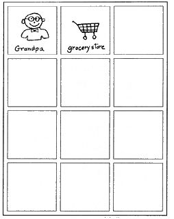 Do2learn.com: Free printable templates for visual schedules. Excellent to use with chores, morning/nightly routines, homework, etc. to improve your child's organization, independence, and confidence.