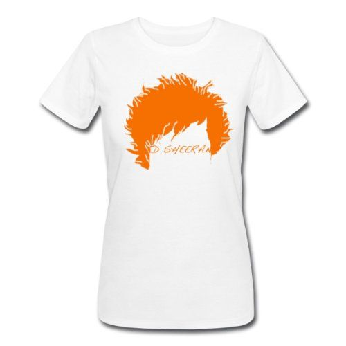 spreadshirt ed sheeran silhouette women s classic t. Black Bedroom Furniture Sets. Home Design Ideas