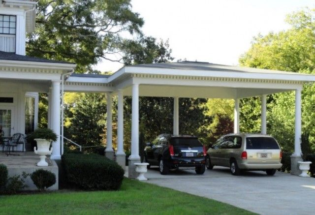 25 Inspiring Carport Ideas Attached To House Wood Carport Design